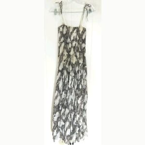 Allsaints Shibori Tie Dye Maxi Dress